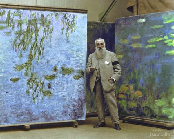 tenemos unas pinturas se destaca el color verde grandes cuadros
