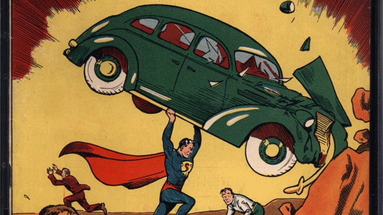 Historieta de Superman logra precio récord de 1 millon de dolares en subasta