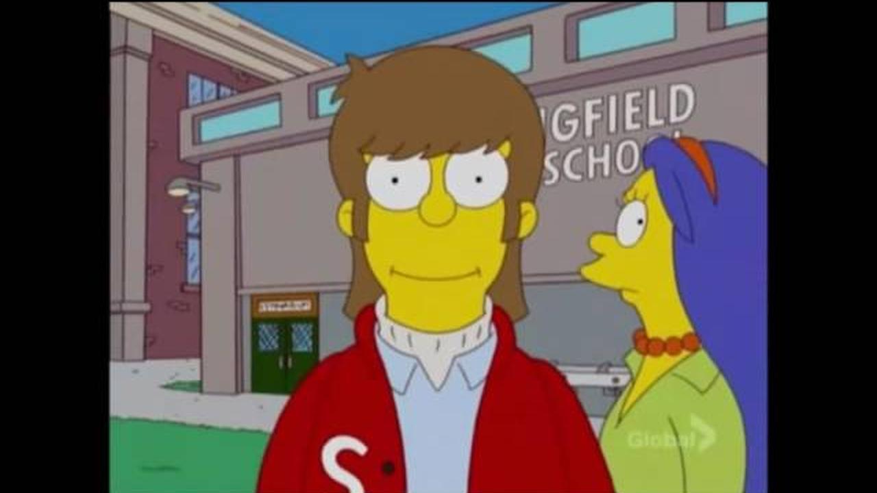 Homero Simpson, un autoretrato al dia durante 39 años