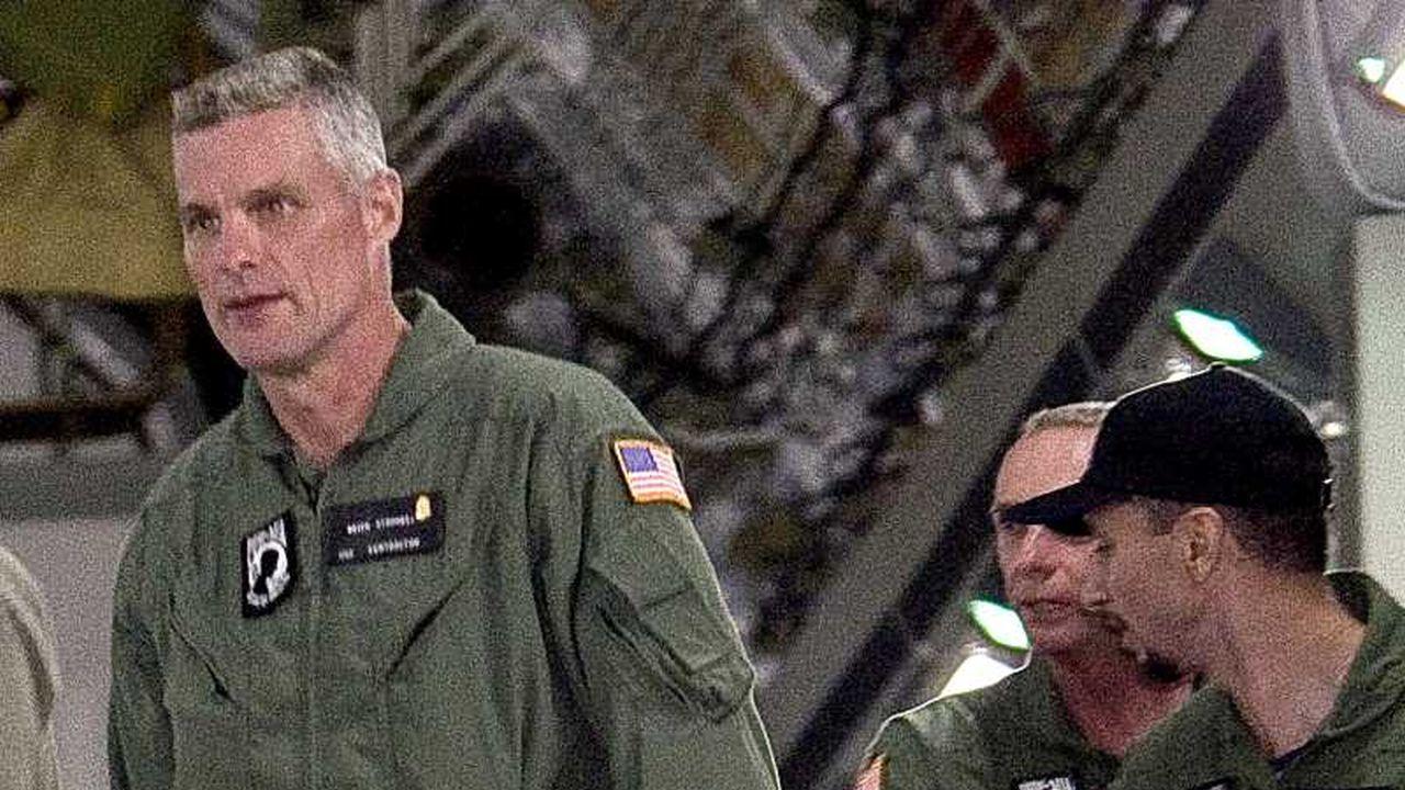 Imagenes de los 3 norteamericanos rescatados