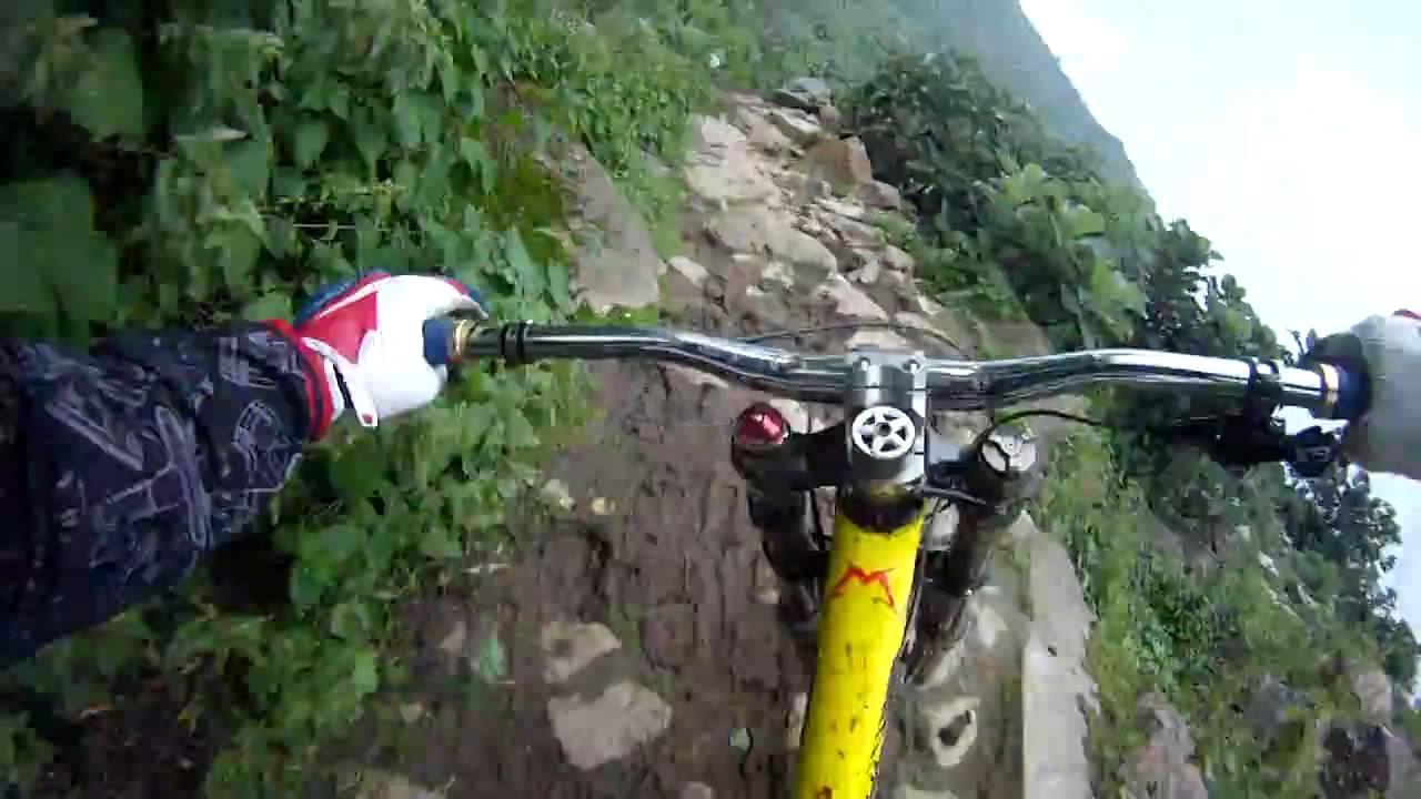 Impresionante Descenso en Bicicleta