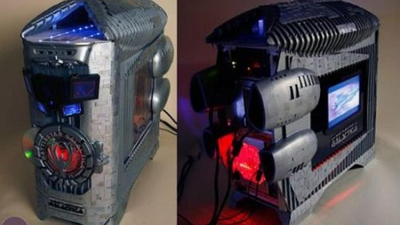 Increible PC Mod inspirado en Battlestar Galactica