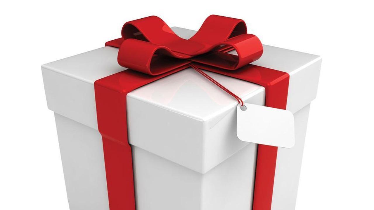 La caja de regalo