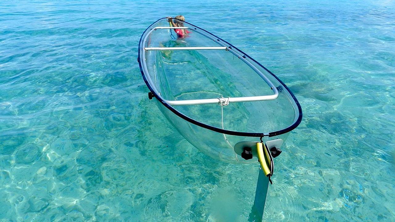 La canoa transparente