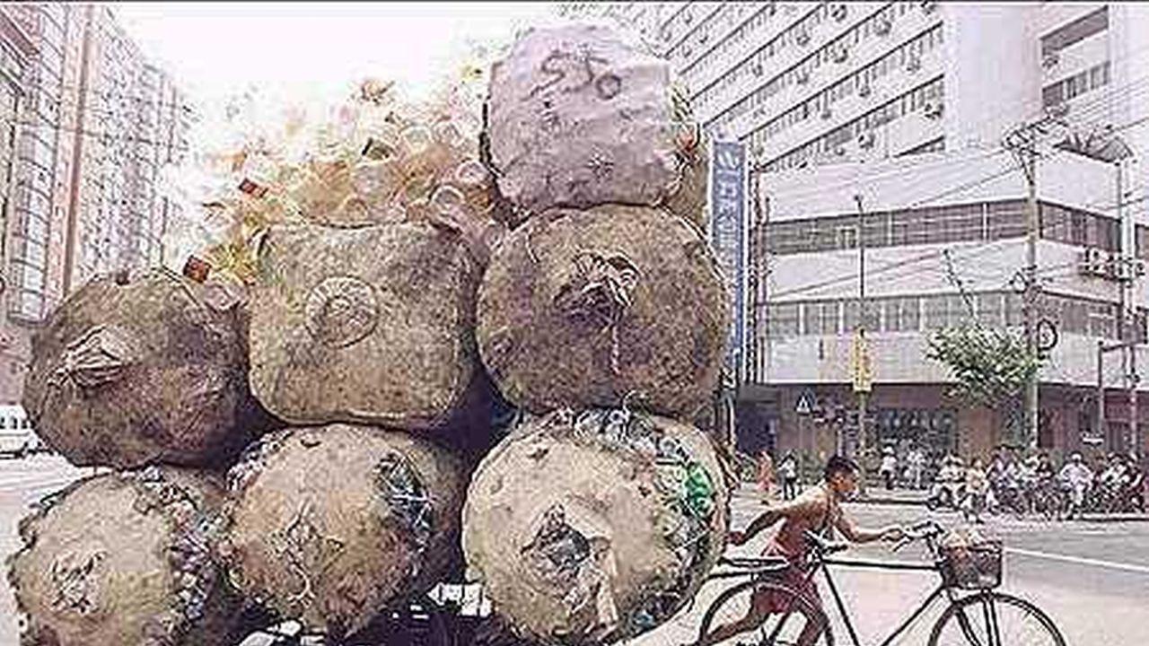 La gente de China tiene habilidades increíbles