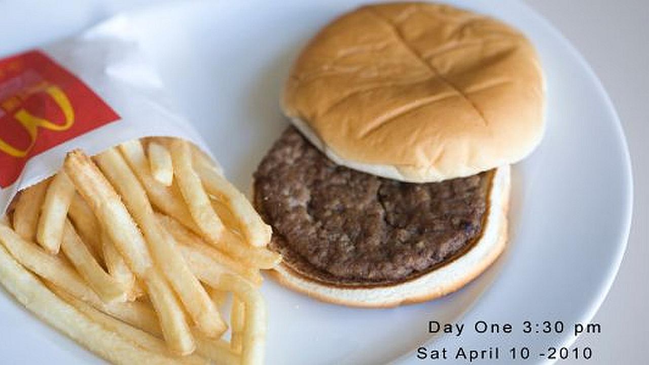 La hamburguesa incorruptible de McDonald's