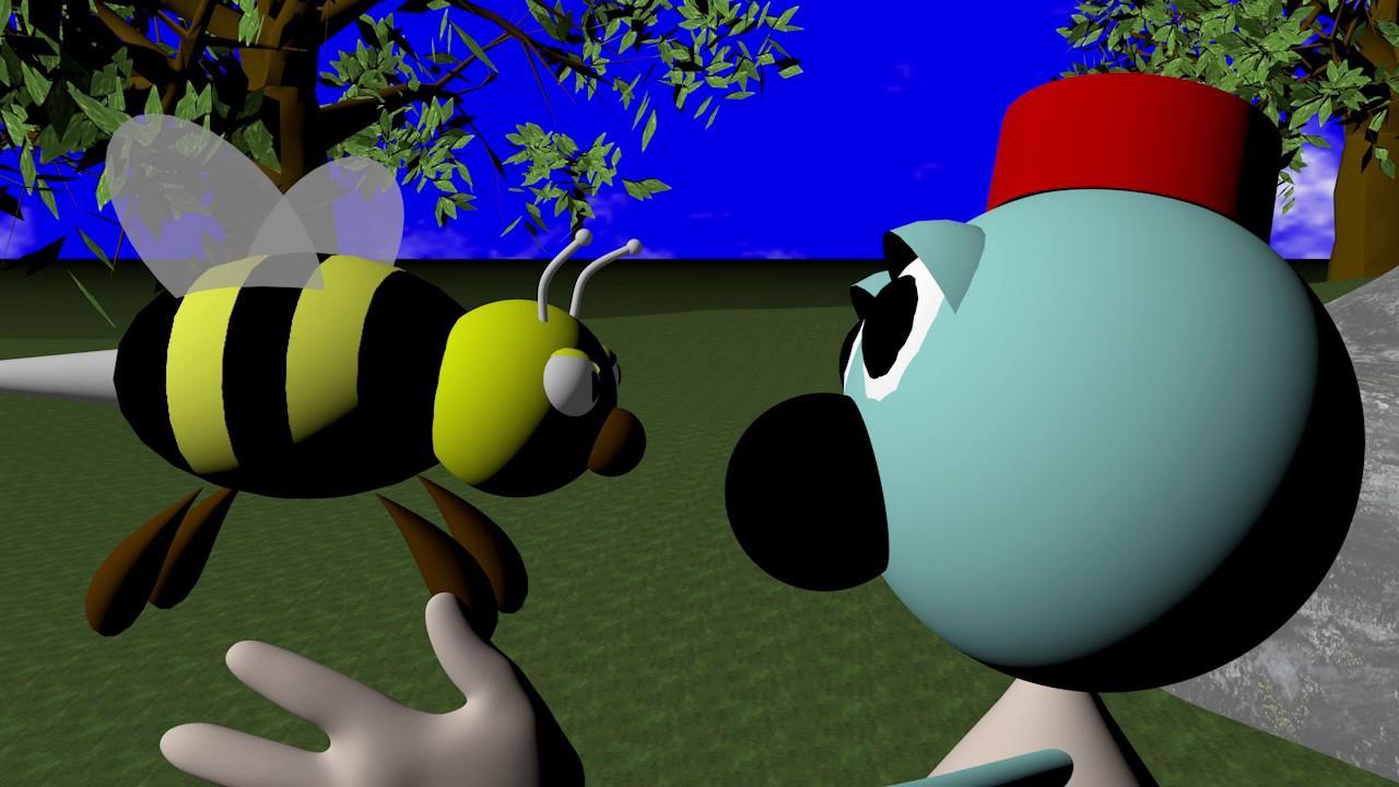 La primera película de Pixar, André y Wally B