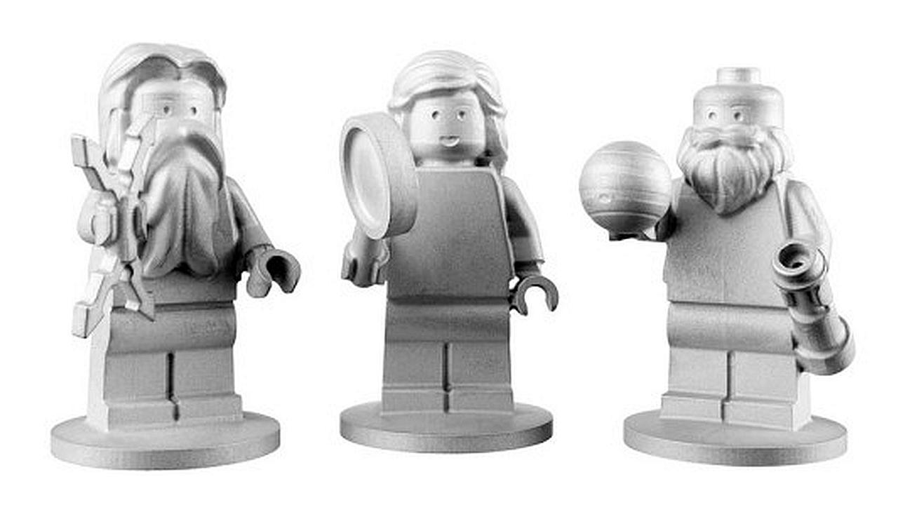 LEGO viaja a Júpiter abordo de nave espacial de la NASA