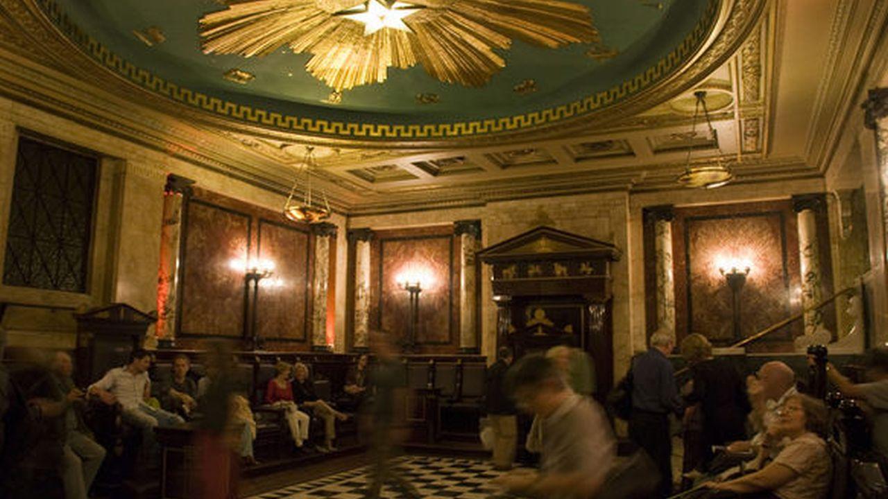 La Logia Masónica del Hotel Andaz, Londres, Inglaterra