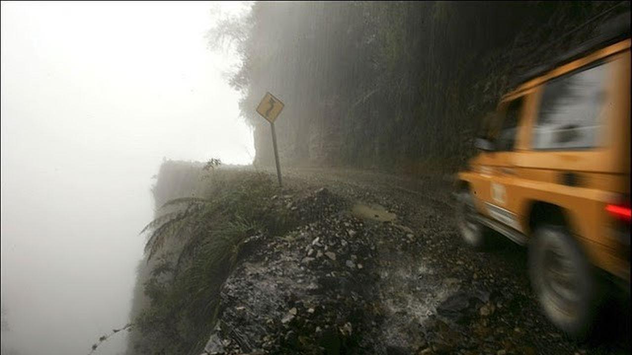 Los 4 Caminos Más Peligrosos del Mundo Si Quieres Accidentarte