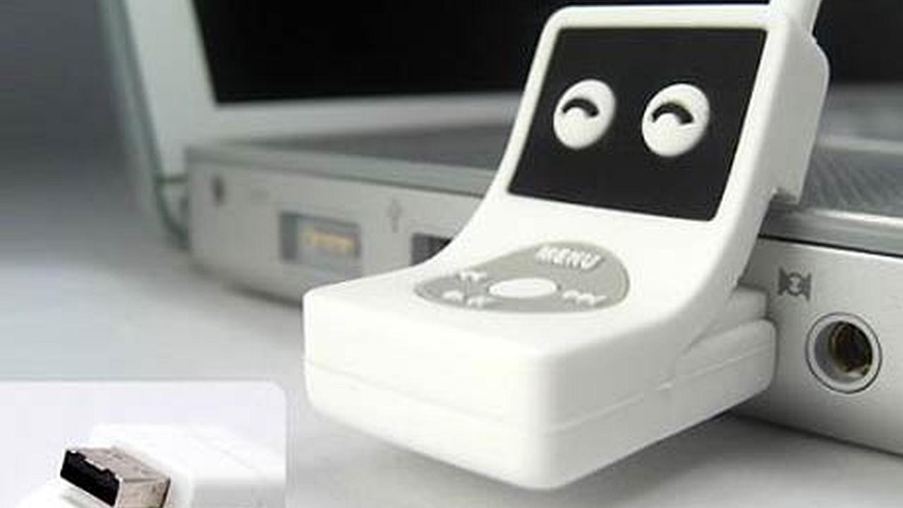 Memoria USB con personalidad