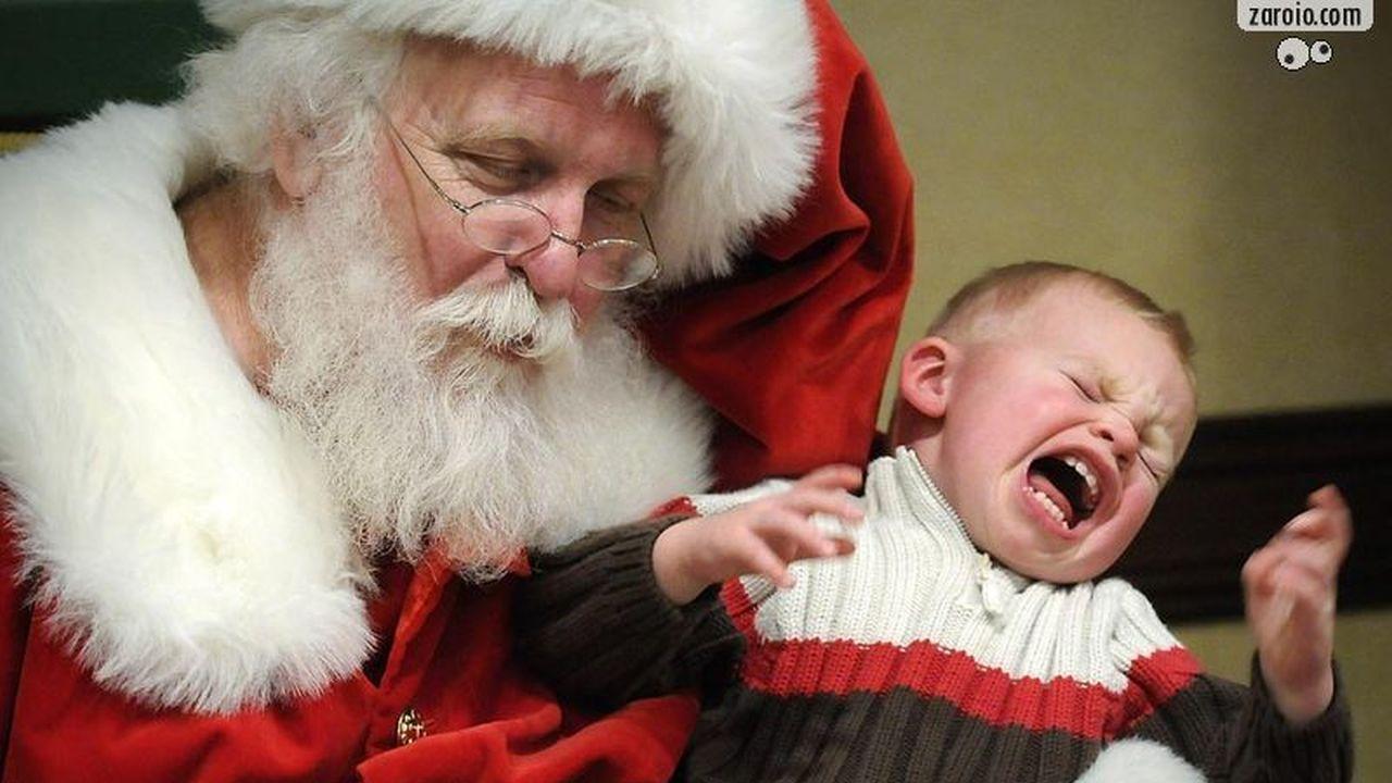 12 Niños Que le Tienen Mucho Miedo a Santa Claus en Navidad
