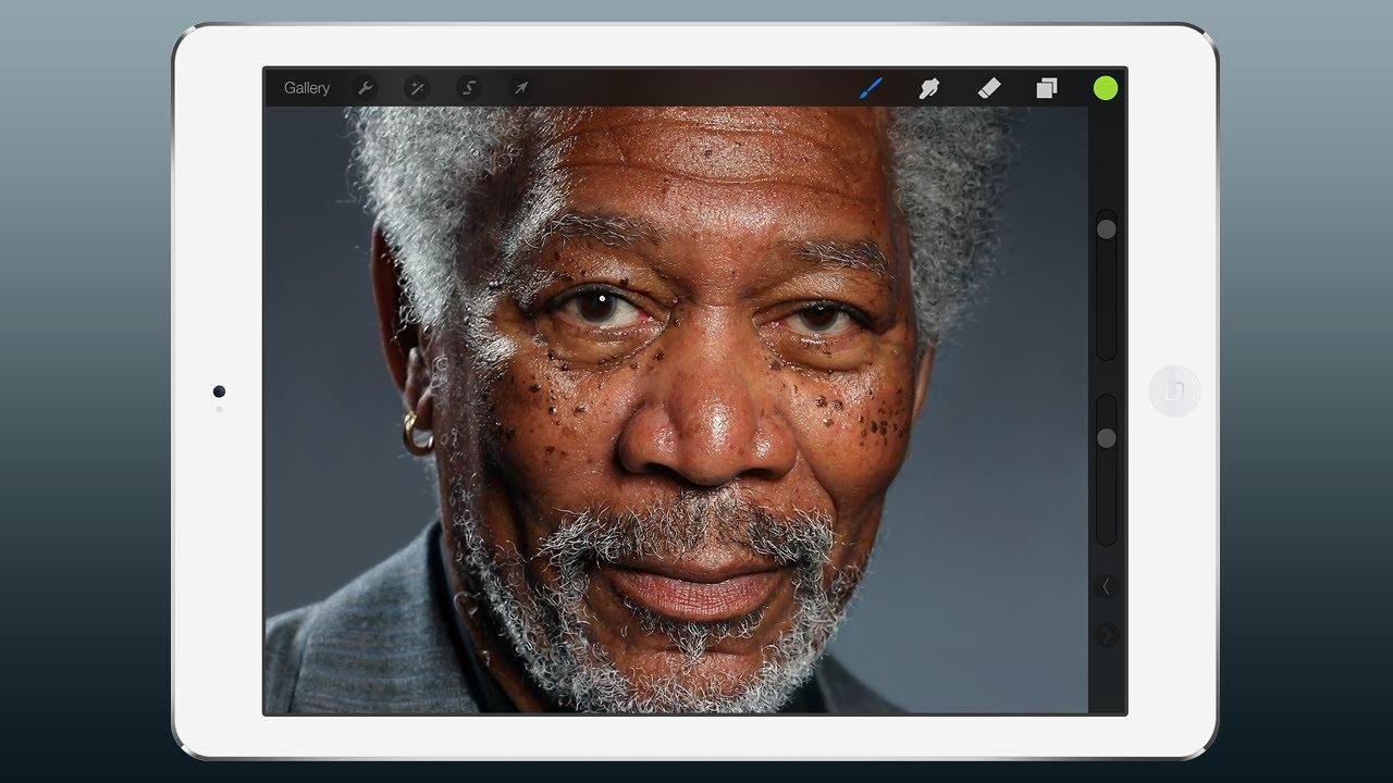 Morgan Freeman changes technology