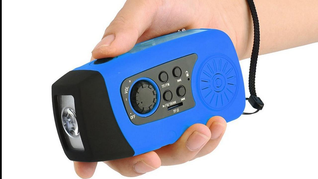 MP3 de manivela