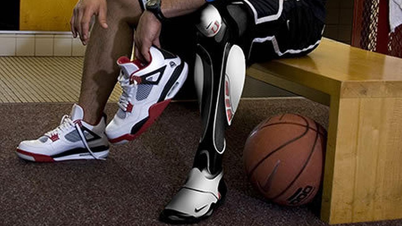 Nike crea prótesis Air Jordan para los deportistas discapacitados