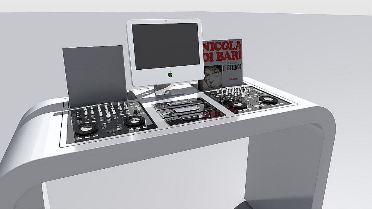 Nuevas mesas para DJ con estilo