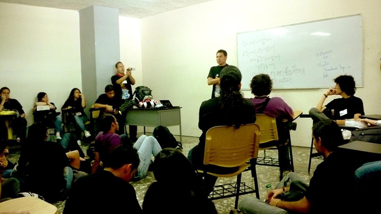 Primer encuentro de lideres Cristianos universitarios