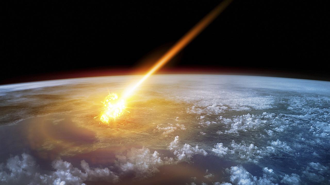 Sodoma y Gomorra destruidas por un asteroide
