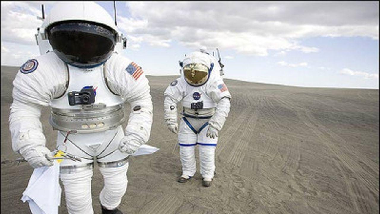 Trajes espaciales de ayer, hoy y mañana