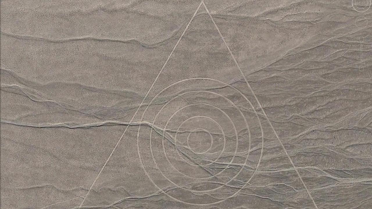 Un extraño triángulo en el medio de la controversial Area 51