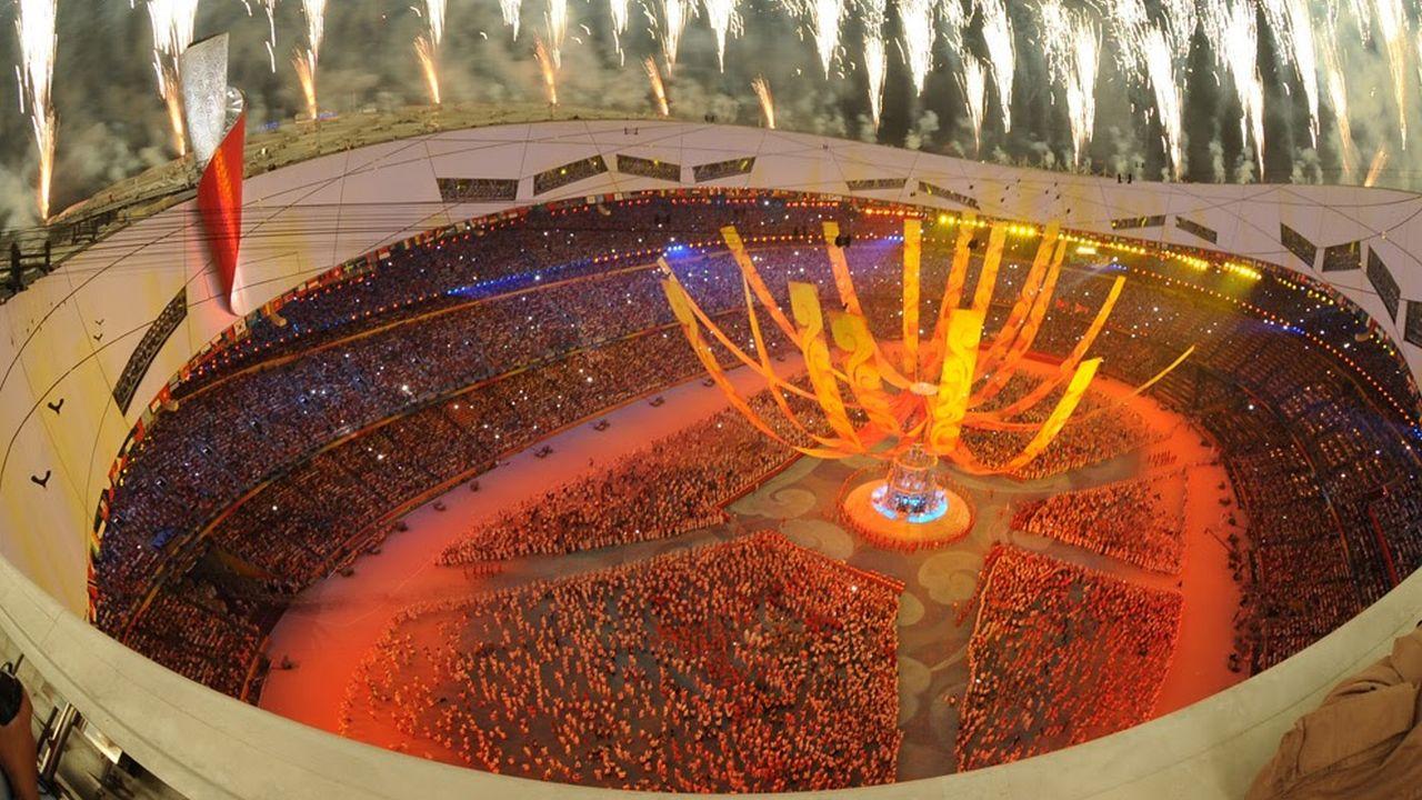 Video revela la ceremonia de inauguración de las olimpiadas 2008