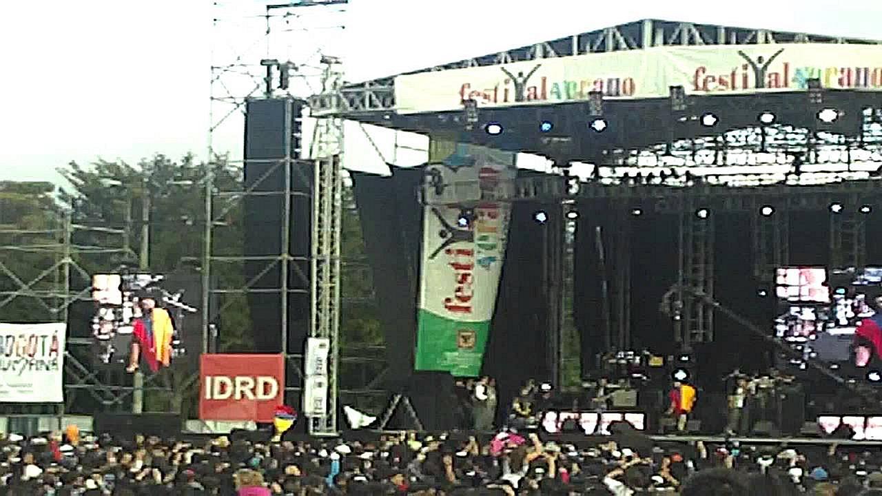 ZONAJ en el Bogota Gospel 2012