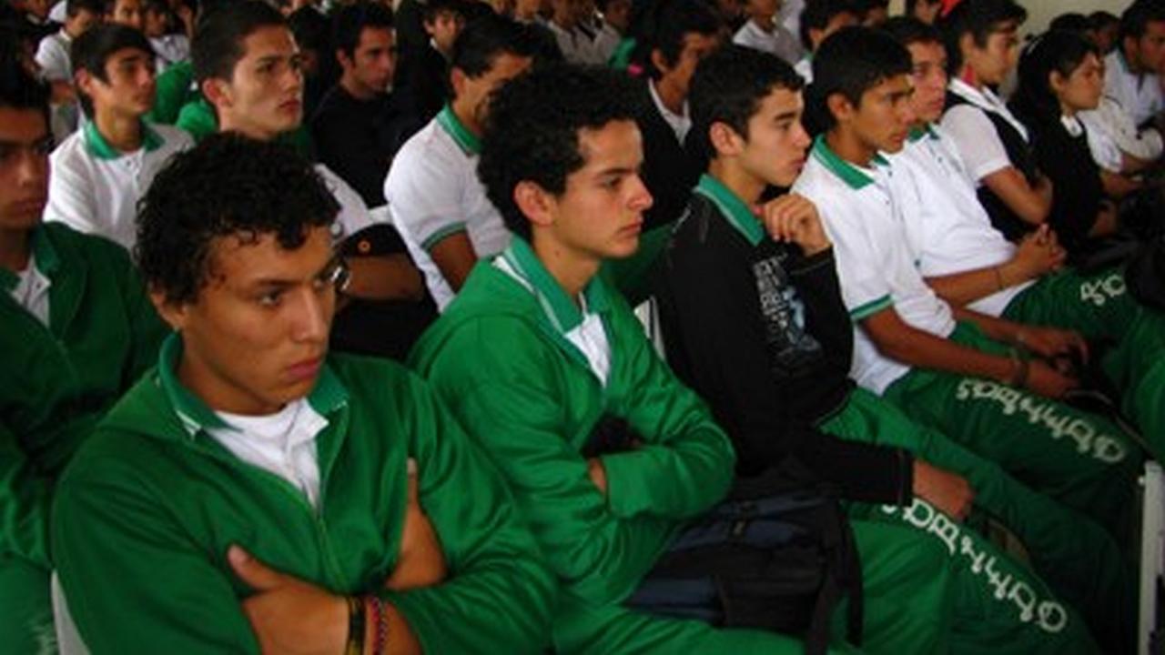 Zonaj en el Colegio Robledo