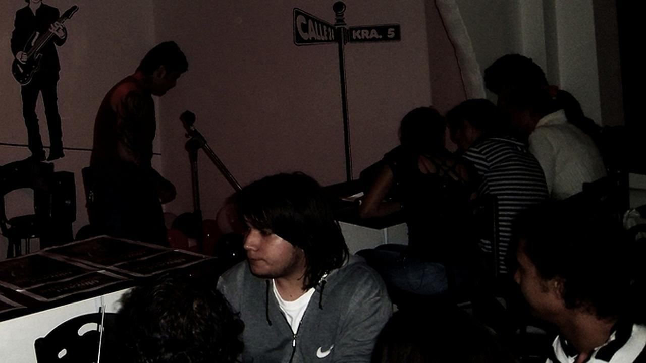 ZonaJ-Radio en el concierto de Strike 3 en Pereira 2010
